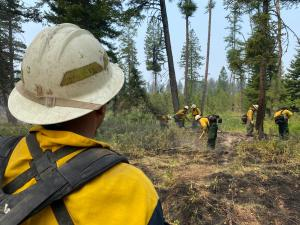 Crews Mopping Up on the Snake River Complex Fire