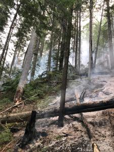 Sept 19 fire on the slope