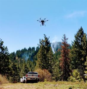 Drone ignitions on Crooked East RX