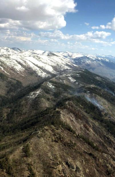 Four Mile Fire, May 18, 2021