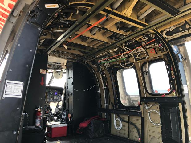 Inside the Type 1 Helicopter