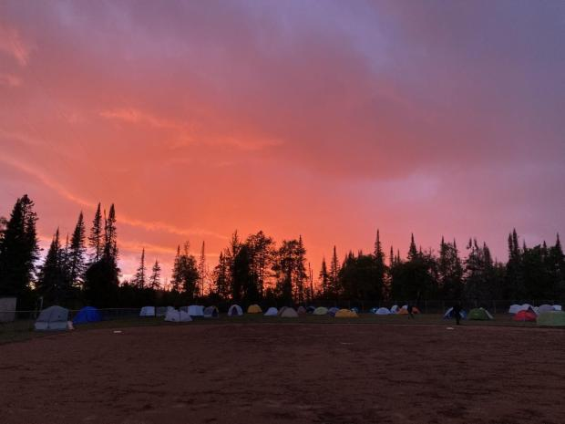 Fire  Camp Before the Storm  - Photo Credit Kate Batten