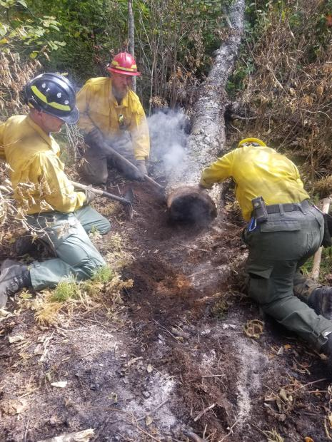 New England Crew Mopping Up - Photo Credit A. Davis
