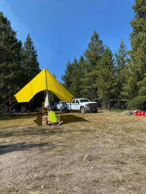 Bear Creek Fire Spike Camp August 28, 2020