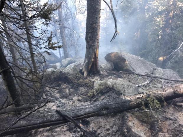 State Creek Fire August 29, 2020