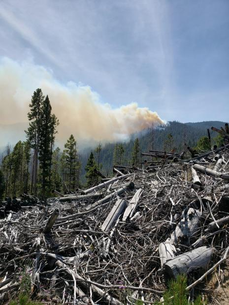 State Creek Fire September 6, 2020