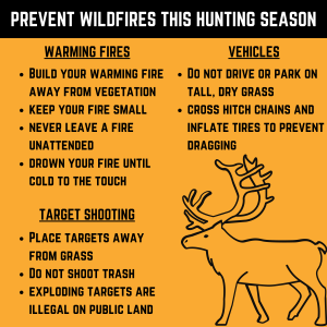 Hunter Safety Poster
