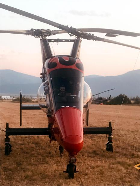 aerial resource on the Beeskove fire