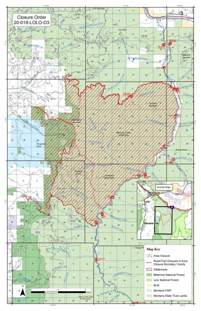 Updated Closure Map to include Ambrose Saddle