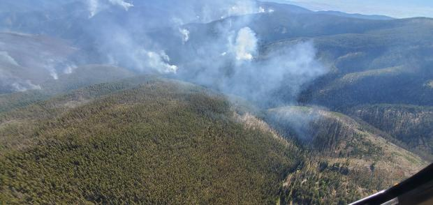 Cinnabar Fire activity on 09/04/2020 at 3 PM.