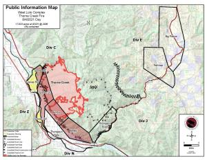 West lolo complex map , Aug 4