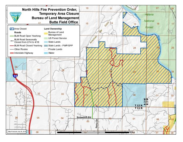 North Hills Fire Maps - InciWeb the Incident Information System