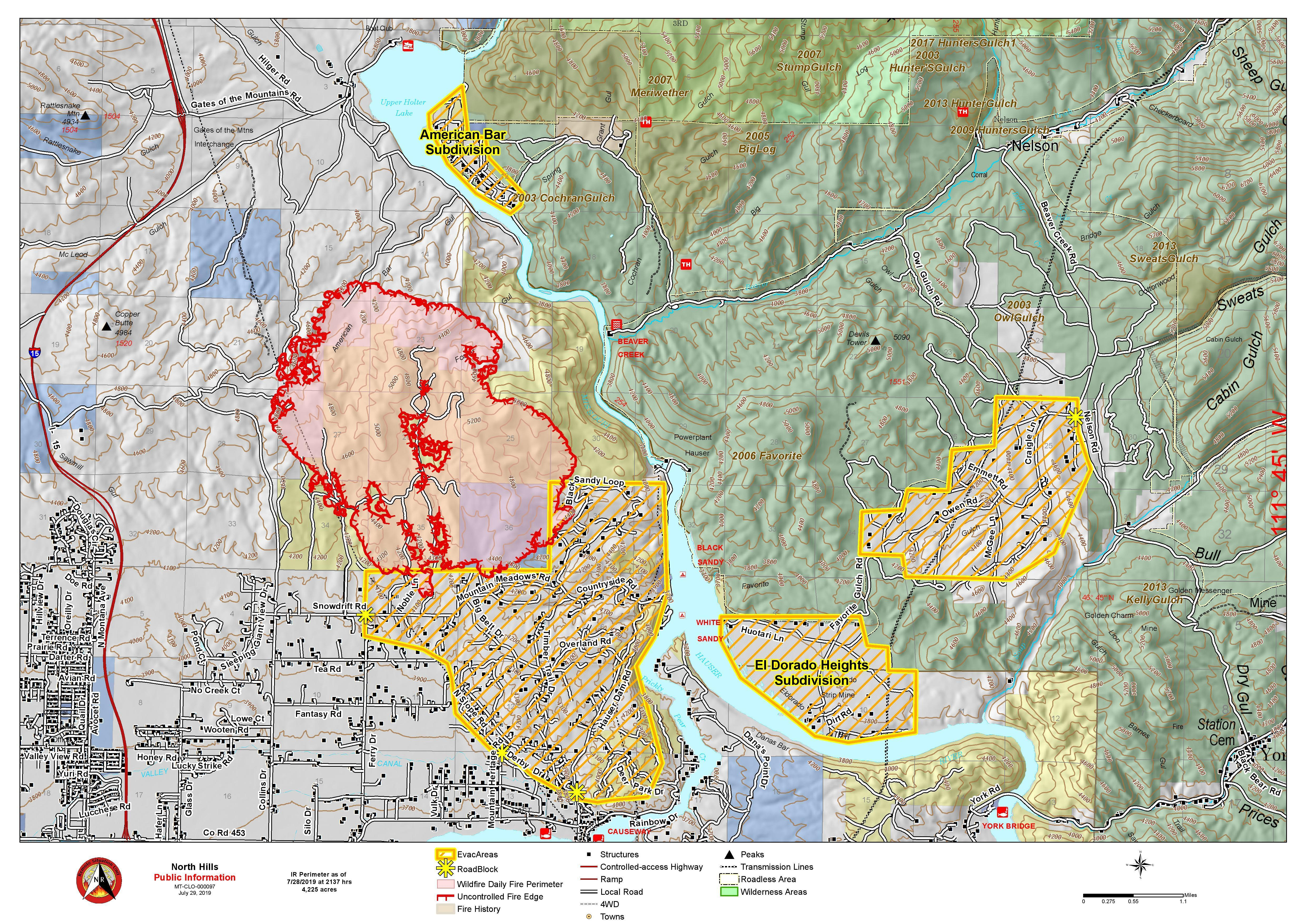 Fires In Montana Map Montana Wildfire Roundup For July 29, 2019 | MTPR