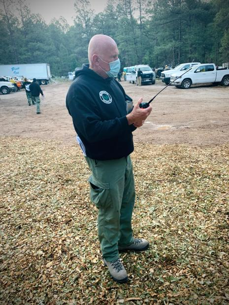 Image of Wilderness Medics Inc. crew member on Tadpole fire 06/15/2020 by Molly Barker