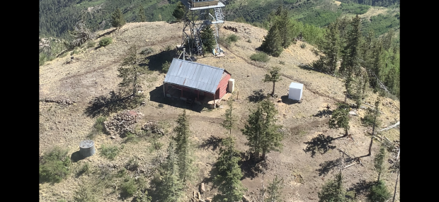 another angle of the lookout