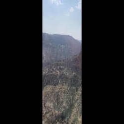 this is a clockwise rotation of the fire from the east side just south of Gila cliff dwellings to Mogollon creek n