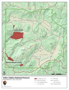 Map of Planned Prescribed Burn Location