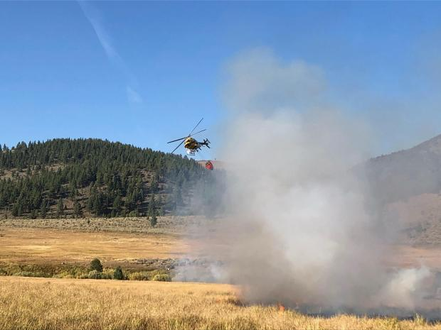Bagley Valley suppression operations