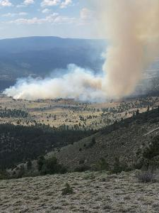 Looking over Ben Young Fire