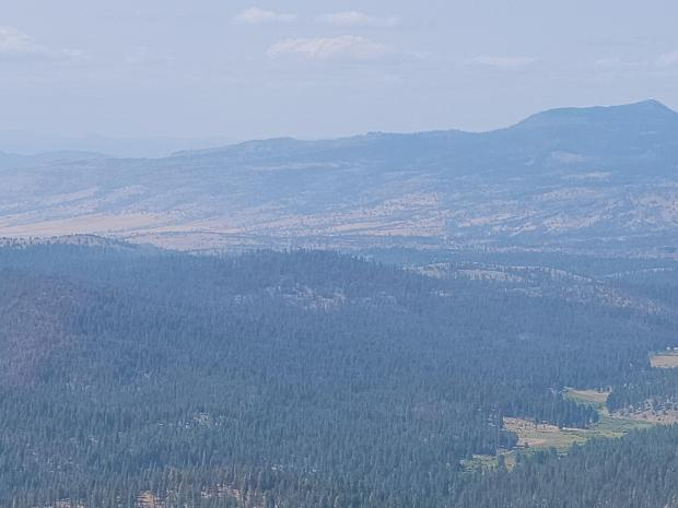Image of Murderers Creek 6 area as seen from Flagtail Lookout.