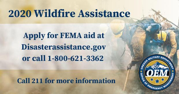 Wildfire FEMA Disaster Assistance