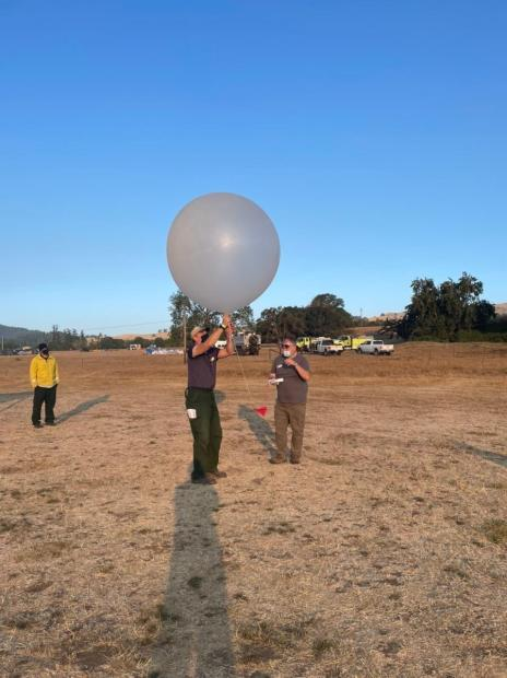 Weather Balloon Launch August 23