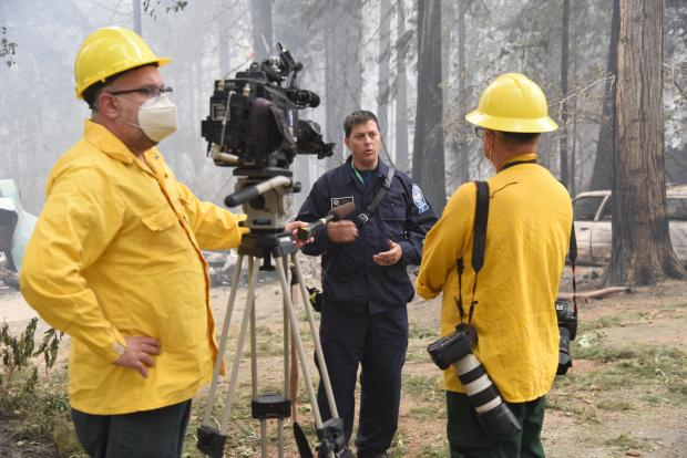 Media Reports from Holiday Farm Fire