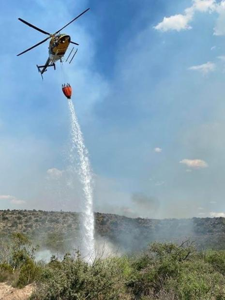 helicopter water drop
