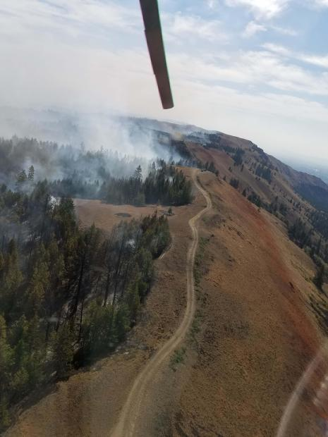 Evans Canyon Fire September 5