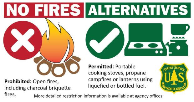 Stage II fire restrictions alternatives